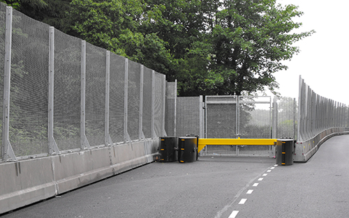 SecureGuard with fencing installed at G8 summit
