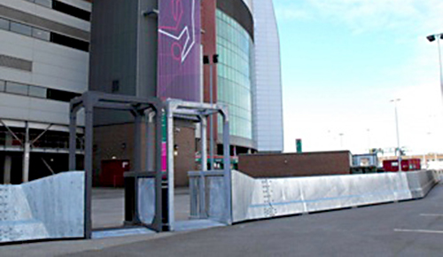 Secureguard Portal installed at the Olympic Games in London, 2012