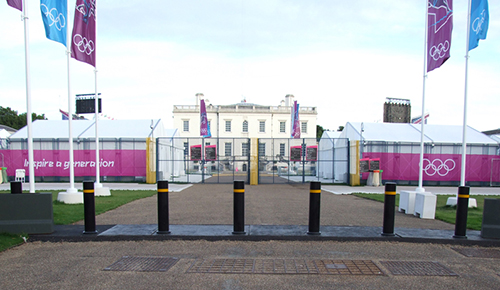Secureguard Bollards installed at the Olympic Games 2012 in London