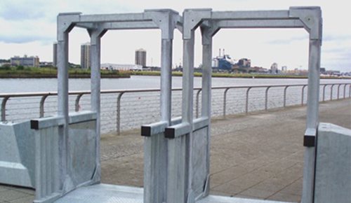 Waterfront – Security Controlled Pedestrian Access Point