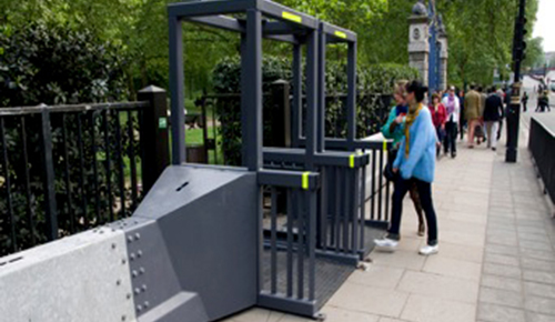 Secureguard Portals installed for security at the Royal Wedding, 2011